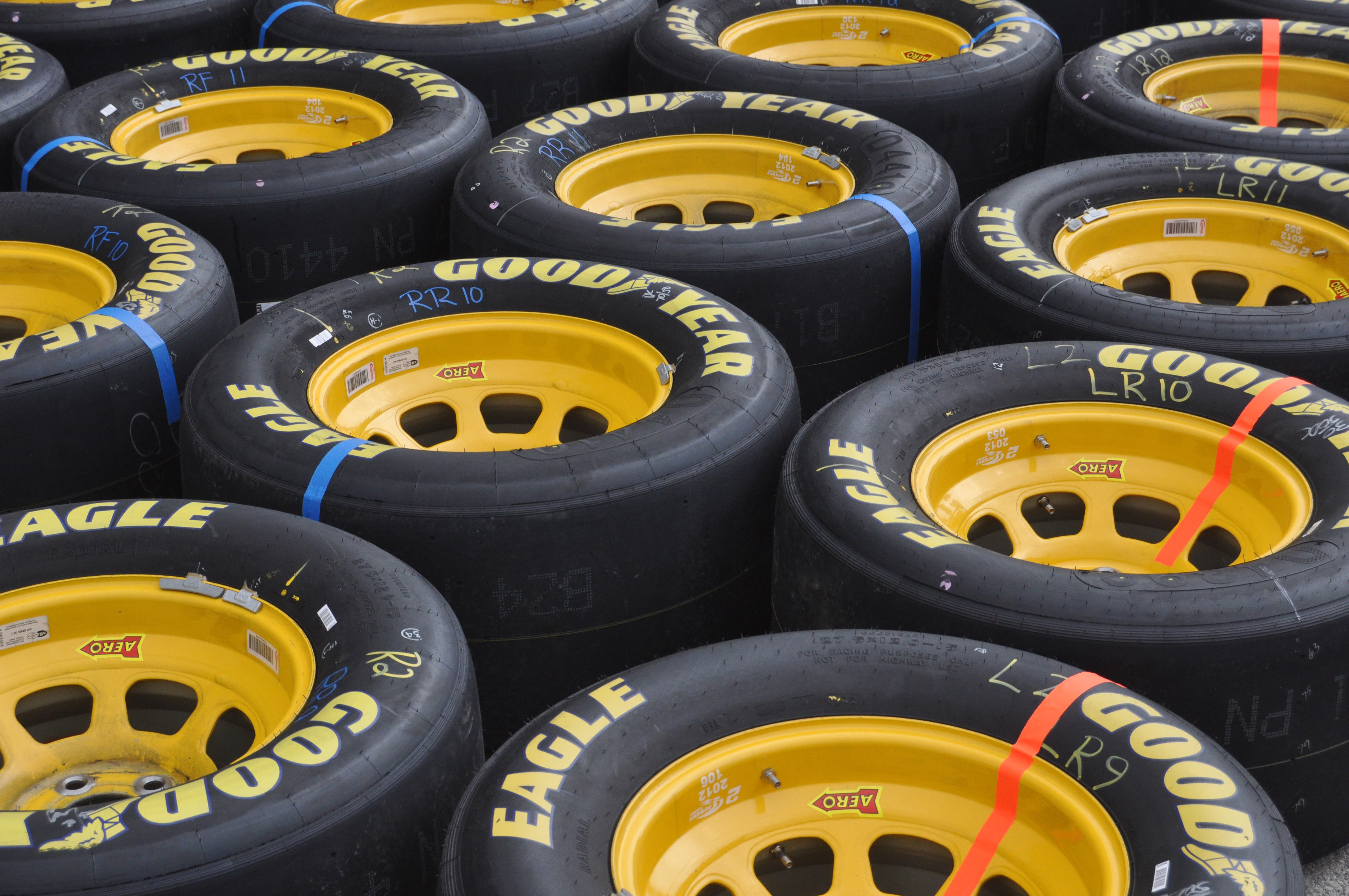 Where can you apply for a rebate on Goodyear tires?
